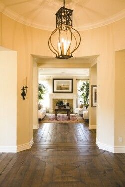 love the floor and the light fixture
