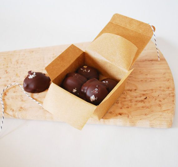 Dark Chocolate Covered Sea Turtles with Pecans and Caramel Organic Fa ...