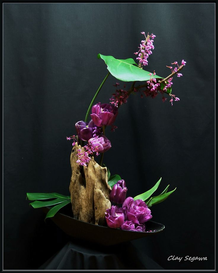 the art of ikebana a form of japanese floral design Abstract floral design at:  original ikebana art, japanese flower  components are arranged for their distinctive characteristics which may be form,.
