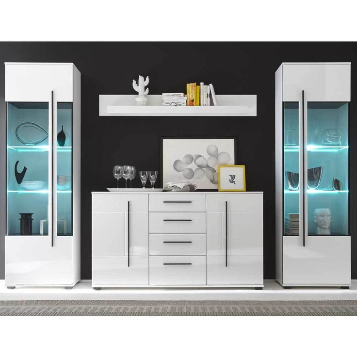 die besten 25 wohnwand wei hochglanz ideen auf pinterest wohnwand hochglanz tv wand. Black Bedroom Furniture Sets. Home Design Ideas