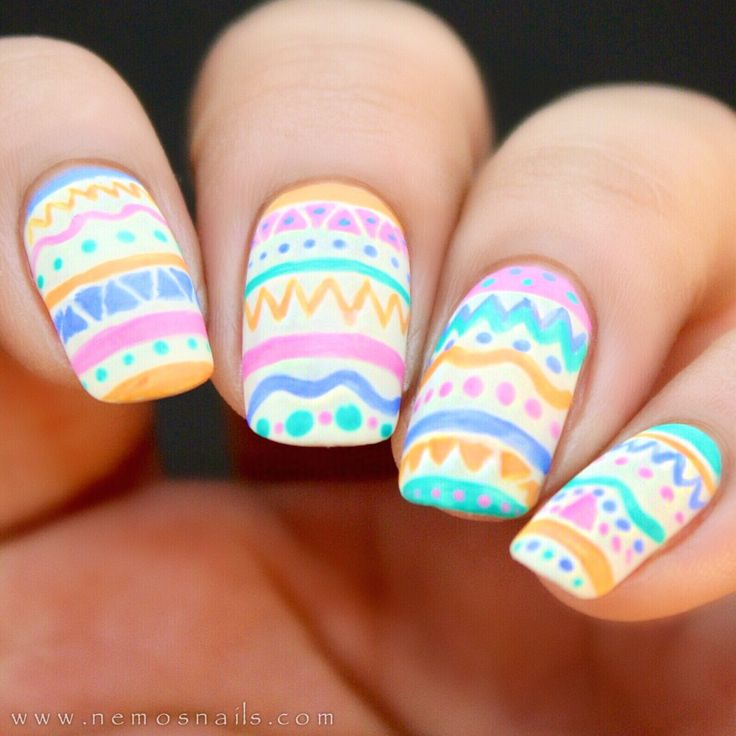 Easter egg nail art gallery nail art and nail design ideas easter egg nail art design sabrina s nail easter eggs nails view images easter egg nail prinsesfo Choice Image