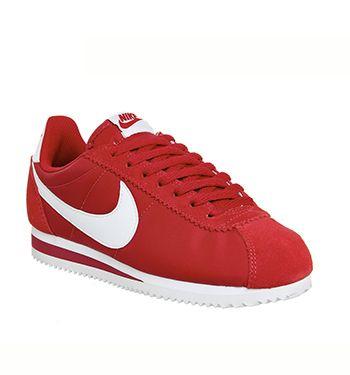 Nike Cortez Nylon Classic Gym Red White - Unisex Sports