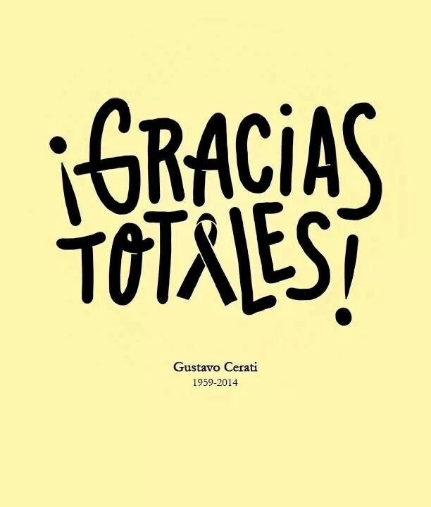 47 Grandes Frases que dejó Gustavo Cerati, ¡Gracias Totales! - Taringa!
