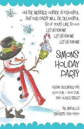 christmas snowman cocktail party invitations invitation with a cocktail holding snowman perfect christmas cocktail - Christmas Cocktail Party Invitations
