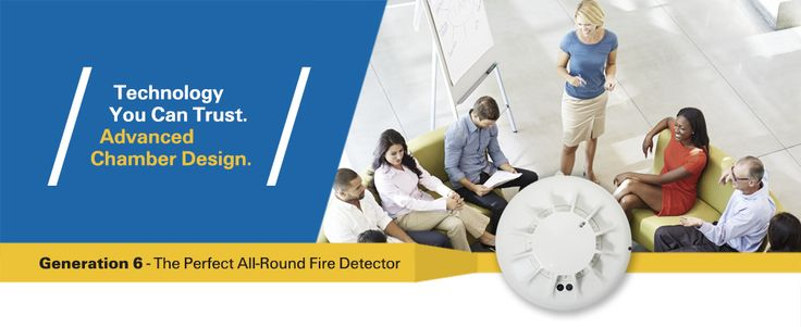 Generation 6 - The Perfect All-Round Fire Detector