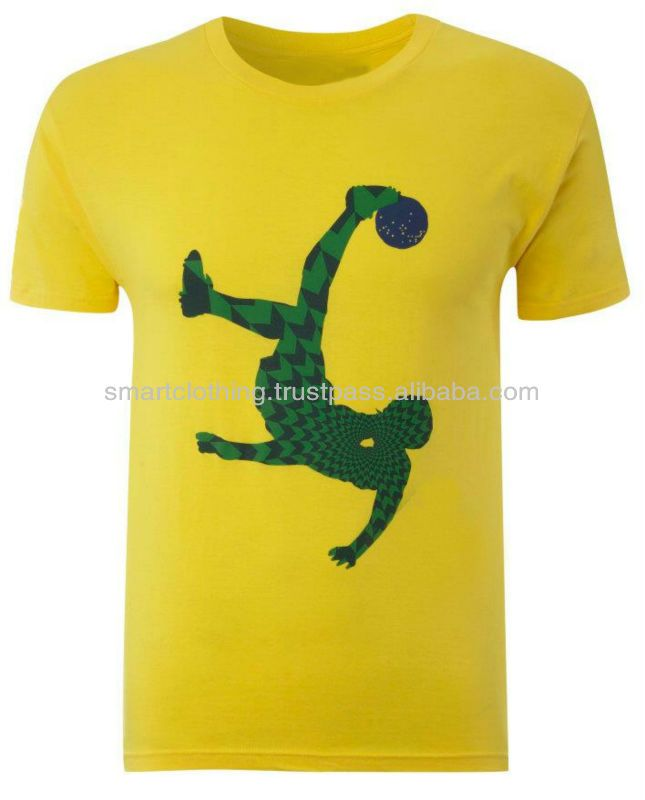 Dri-FIT 100% polyester Soccer Uniform Shirt/2014 Soccer Wold cup Jersey/Sublimation Soccer Jersey/Brasil World Cup Shirt