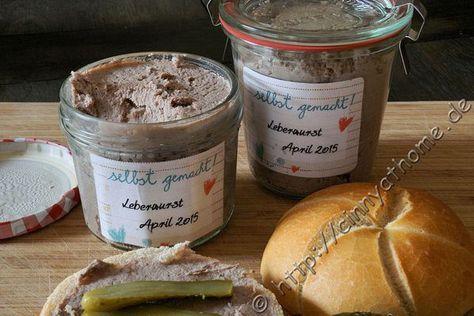 Hausmacher Leberwurst - Krups Prep and Cook