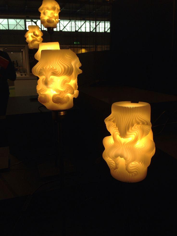 3D lamps masterpiece #MilanoDesignWeek