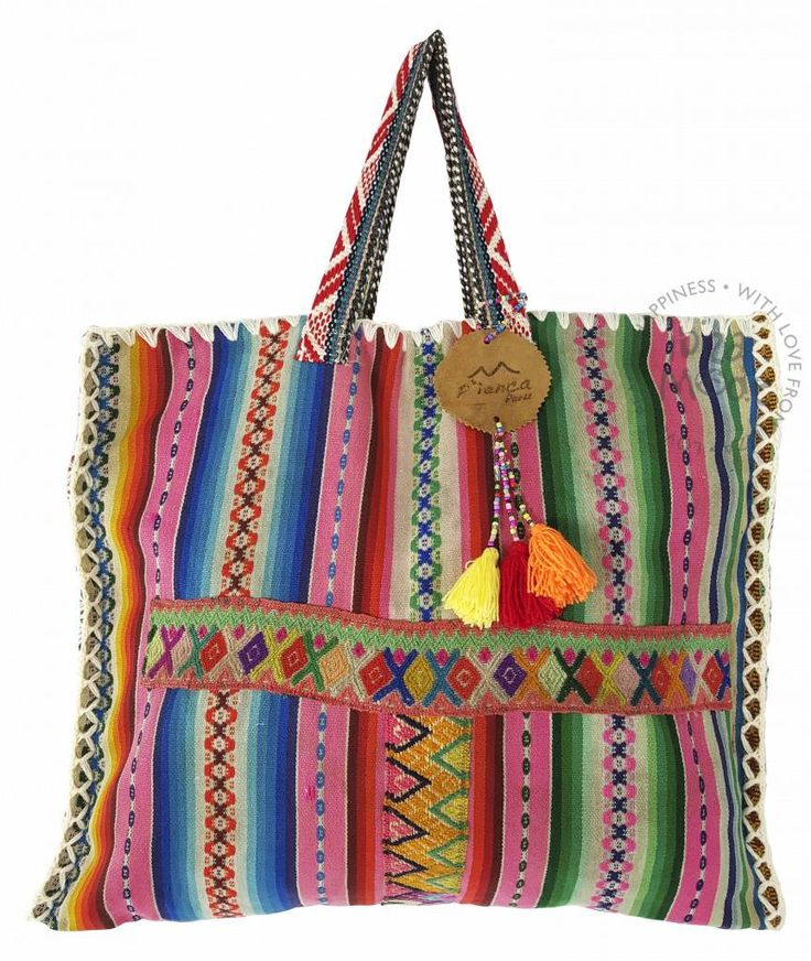 Shopper Embroidery - Indian Red - Ibizamode
