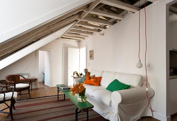 Living room of Príncipe Real apartment, Baixa House        www.baixahouse.com