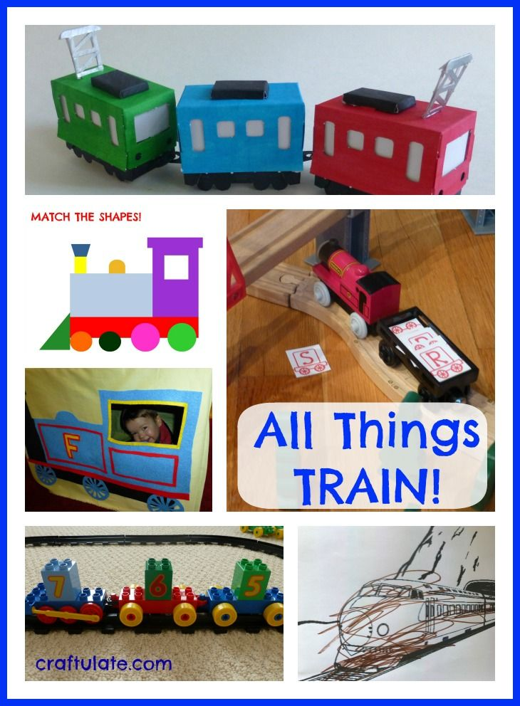 328 Best Images About Train Activities For Kids On