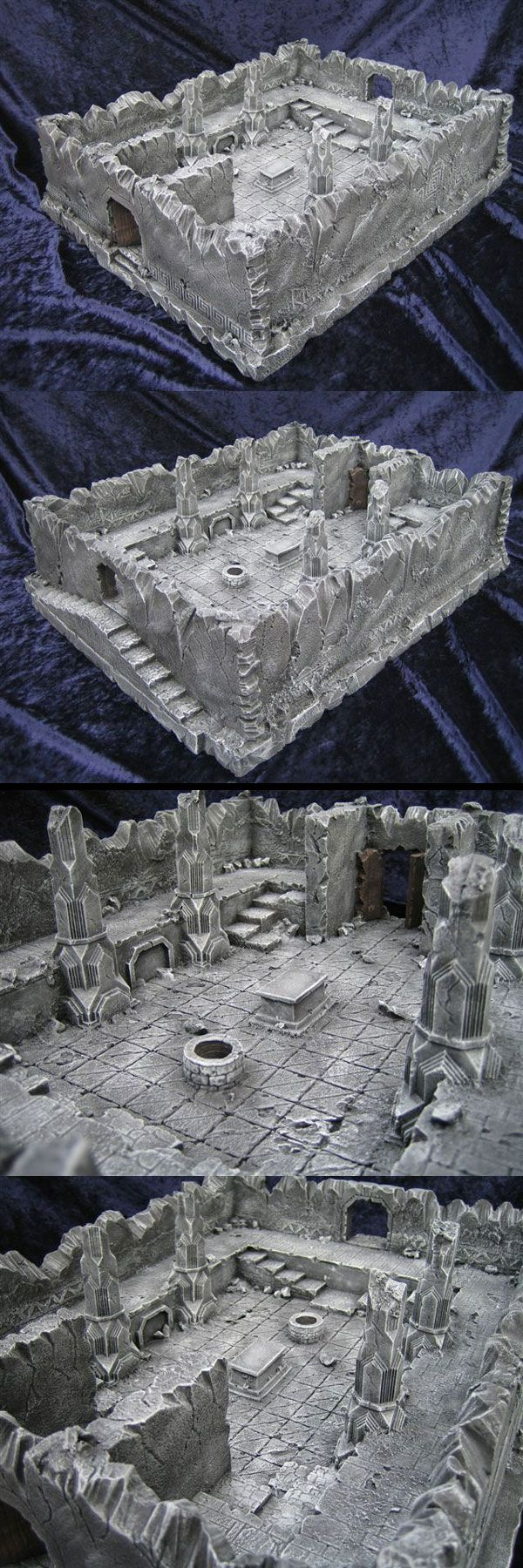 Balins Tomb minis miniatures terrain foam wargaming resource tool how to tutorial instructions | Create your own roleplaying game material w/ RPG Bard: www.rpgbard.com | Writing inspiration for Dungeons and Dragons DND D&D Pathfinder PFRPG Warhammer 40k Star Wars Shadowrun Call of Cthulhu Lord of the Rings LoTR + d20 fantasy science fiction scifi horror design | Not Trusty Sword art: click artwork for source