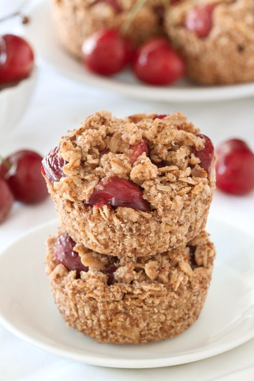 Gluten-Free Cherry Pies have an oatmeal cookie-like crust and are perfect for summer picnics! So delicious! The recipe is a perfect dessert.