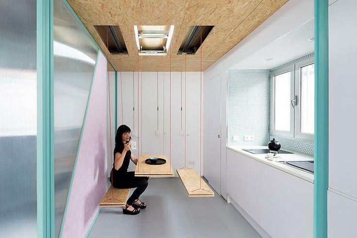 """""""Každý dům je divadlo - jeden večer může být tanečním sálem, druhý čajovnou...,"""" říkají tvůrci. a: Elii Architects www.elii.es f a v: Miguel de Guzmán"""