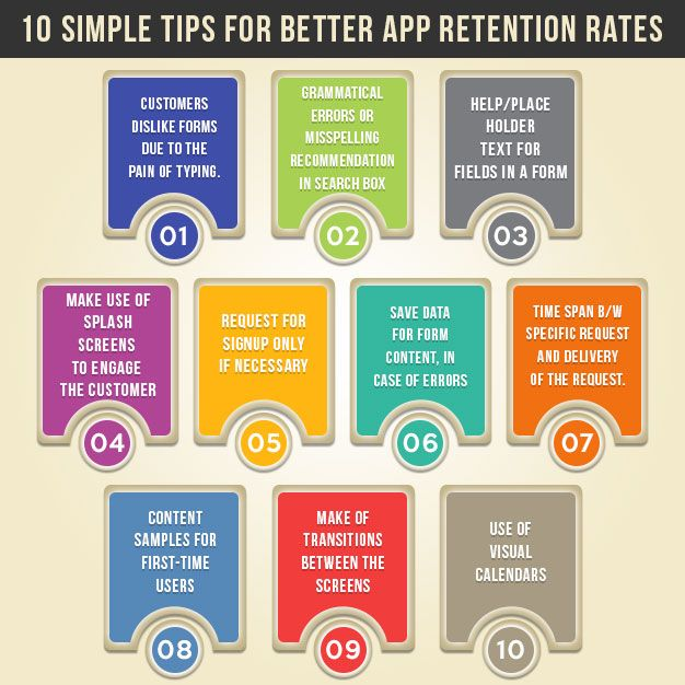 10 simple tips to improve #app #retention rates http://www.promaticsindia.com/blog/10-simple-tips-to-improve-app-retention-rates/ #appdevelopers #improveappretentionrates #mobileappdevelopers #tipsforappretention #appdevelopmentcompanies #increaseappretention