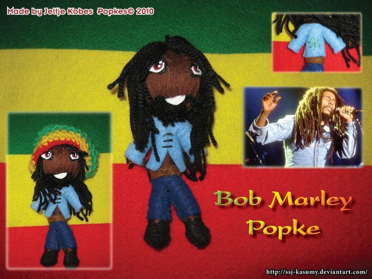 Bob Marley Popke by LadyRafira on DeviantArt
