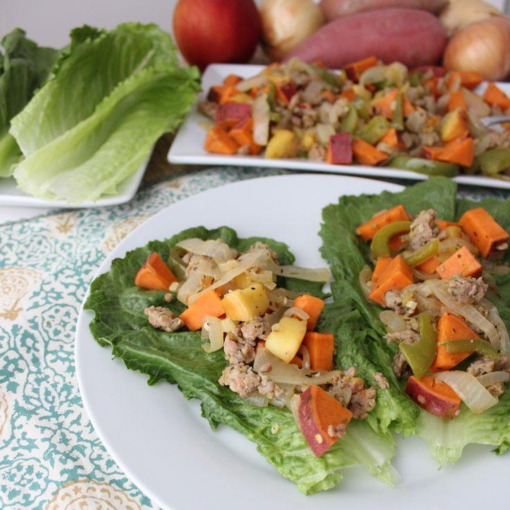 92 best Lettuce Wraps images on Pinterest   Lettuce wrap recipes ...