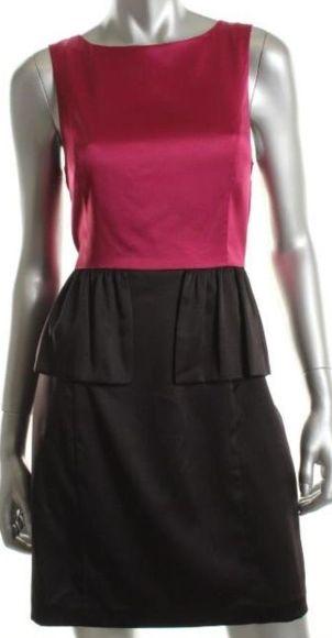 Kensie Colourblock Peplum Party Dress, 6, $42.00CAD + shipping (Reg. $98.00) http://stylenstuff.ca/products/kensie-colourblock-party-dress-6