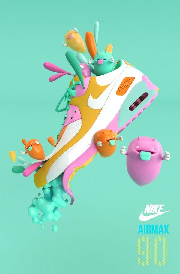 Best D Art D Graphic Images On Pinterest D Design D - Amazing 3d artwork dani aristizabal
