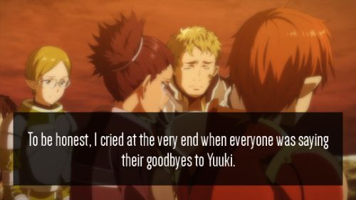 «SWORD ART ONLINE CONFESSIONS» yeah I cried to on that part. WHY!!! YUUKII WHY!!!! *sniff* *sniff*