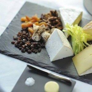 Английская сырная тарелка из сланца Welsh Slate - Коллекция Slateware Dressed