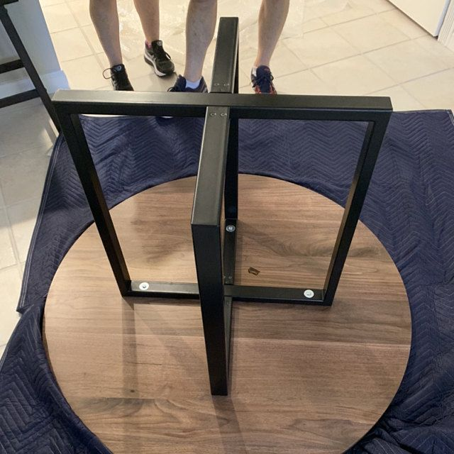 Dining Table Base 28 H X 35 W X 52 L X Frame Wide Table Base