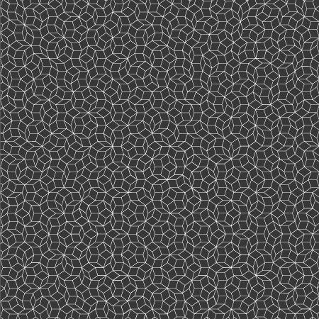 Penrose Tiling [v2] / Typography and Portraits on Behance