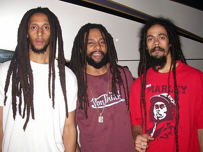 Julian Ki-Mani And Damian Marley