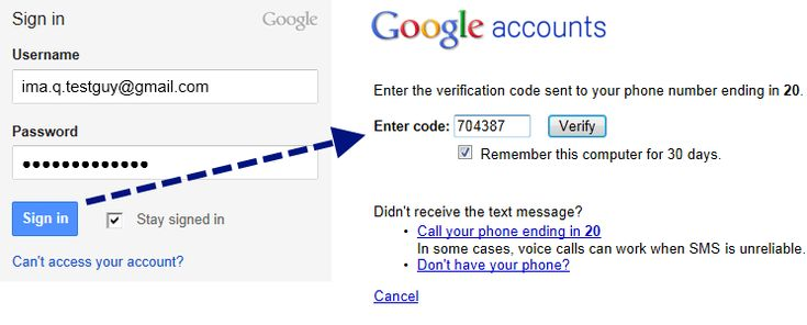 Google-two-factor-login - hack proofing your email