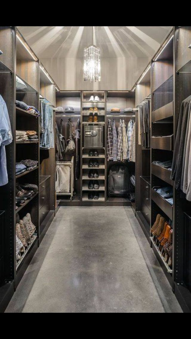 Perfect closet | hang up your Clayton & Crume belts in this elegant room