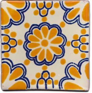 Mexican Tile // I love Central and South American tile patterns and colors!