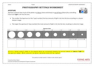 Printables Photography Worksheets studios middle school and art on pinterest