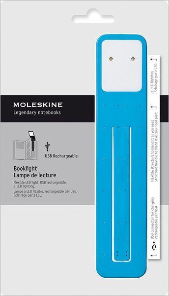Moleskine Booklight Cerulean Blue