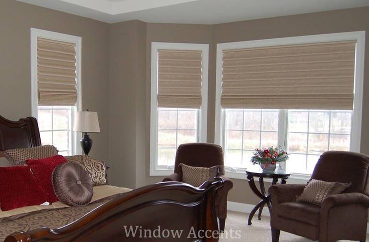 Hunter Douglas Vignette Modern Tiered Roman Shades provide the classic style of a traditional roman shade with the cord free modern shade.