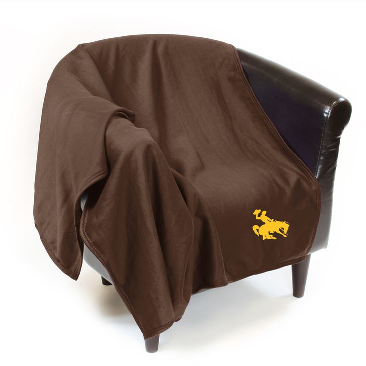 Wyoming Cowboys Ncaa Sweatshirt Blanket Throw University