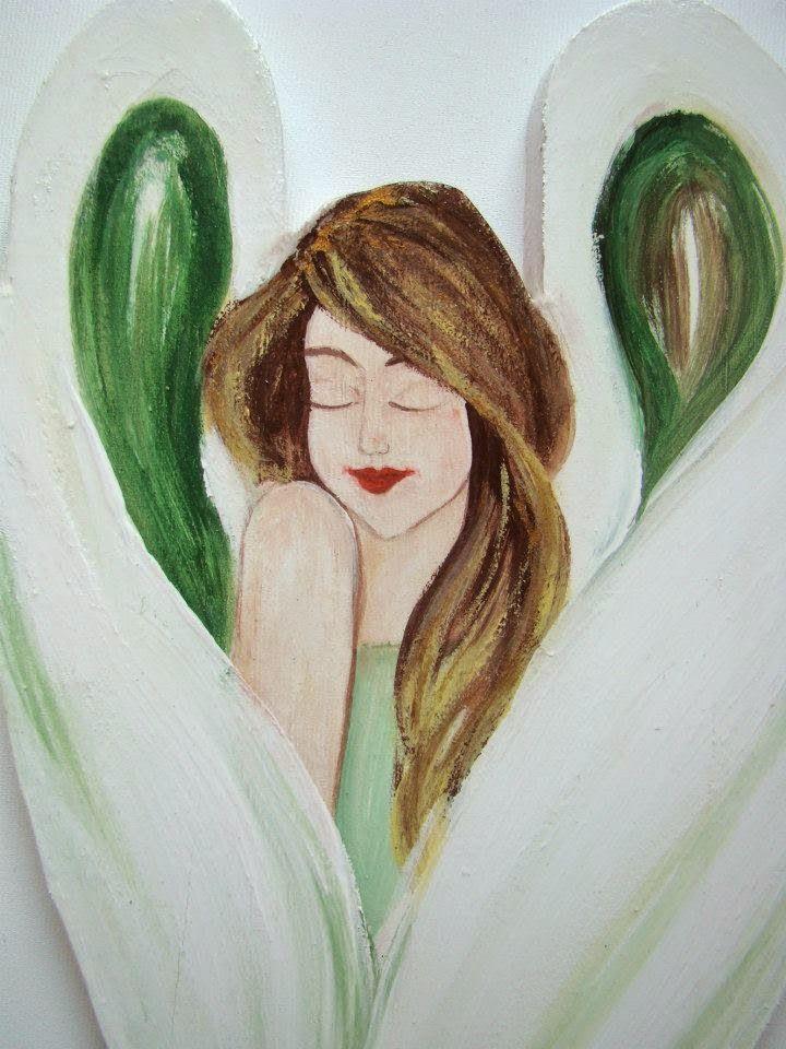 Na skrzydłach anioła: drewniane anioły