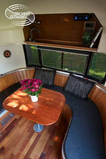 17 Best Images About Airstream Wrap Around Seating On