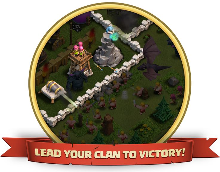 Clash of clans is an epic combat strategy game