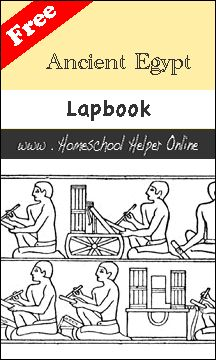 Free Ancient Egypt Lapbook - Homeschool Helper Online-this will work great with my magic tree house book Mummies in the Morning and the nonfiction companion book