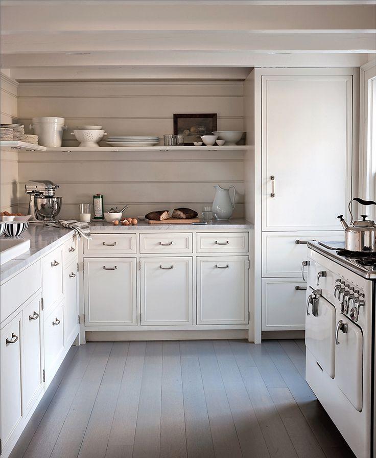 Haus, Seehaus Küchen, Bauernküchen, Weiße Küchen, Traumküchen, Küchenwände,  Ideen Für Die Küche, Rosa Tapete, Küchen