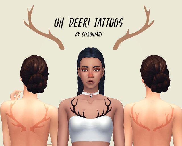 Sims 4 Cc Maxis Match Tattoo