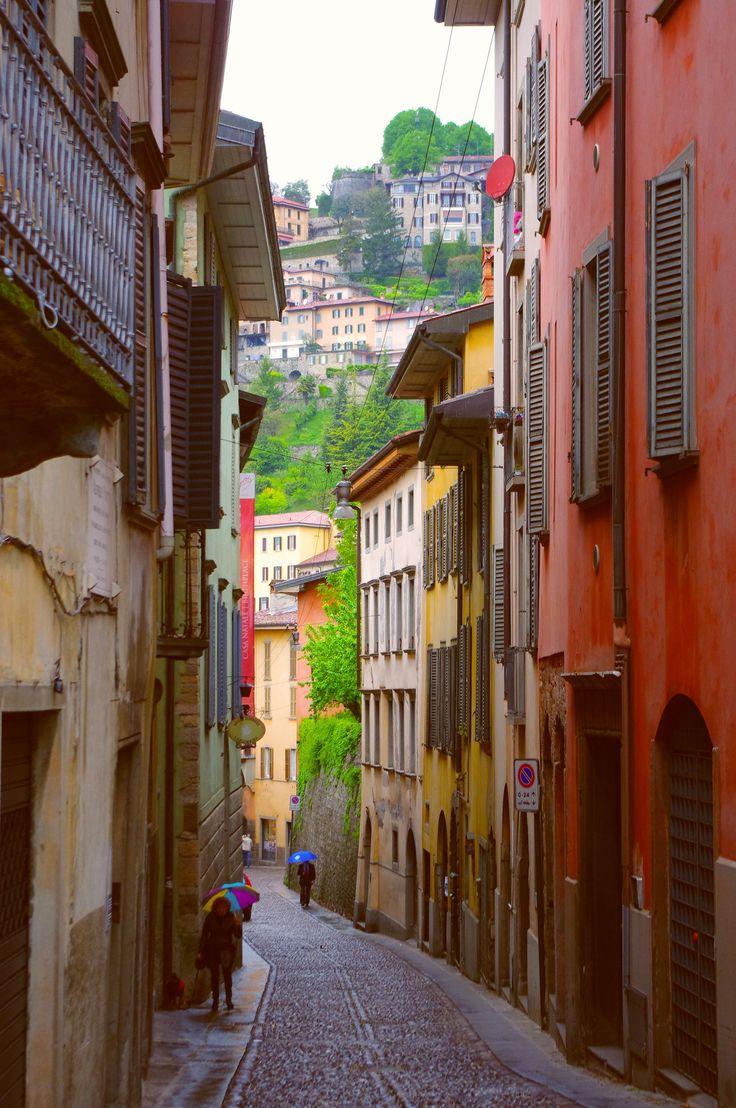 Bergamo, Italy. I would do anything to go back here.
