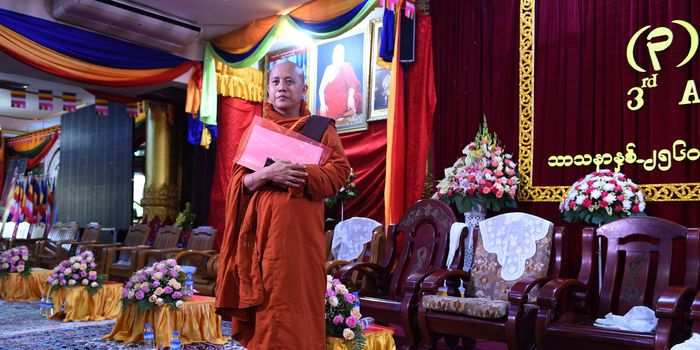 12 October 17  Buddhist Leader Spreads Hatred Of Muslims In Myanmar