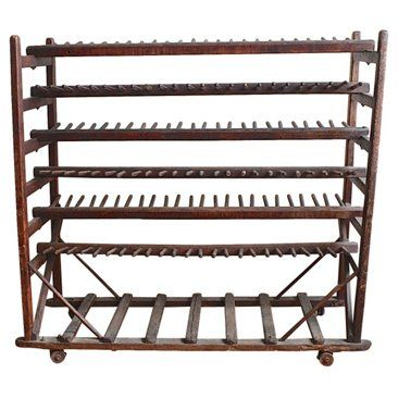 Check out this item at One Kings Lane! Pegged Rolling Rack