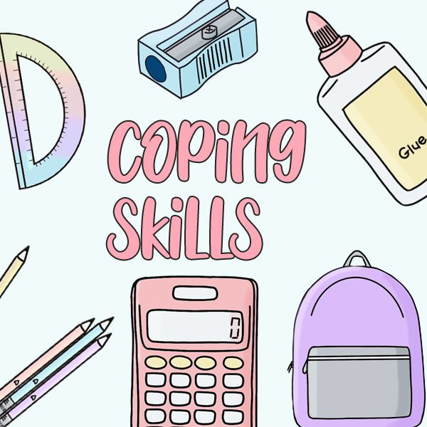 Coping Skills And Coping Strategies Clip Art Clip Art Coping Skills Social Emotional Learning