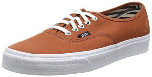 Vans Authentic, Unisex-Erwachsene Sneakers, Braun (deck Club/auburn), 38 EU - http://on-line-kaufen.de/vans/38-eu-vans-authentic-unisex-erwachsene-sneakers-53
