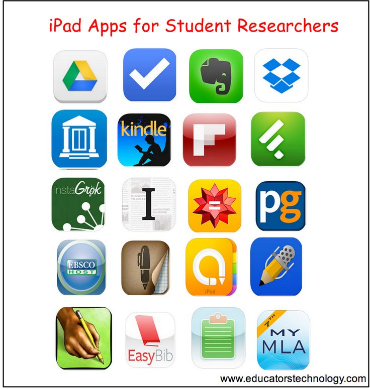 20 Must-have iPad Apps for Student Researchers and Academics ~ Educational Techn…