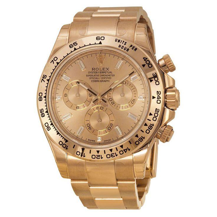 Rolex Daytona Cosmograph Everose Diamond Dial Watch 116505PKDO