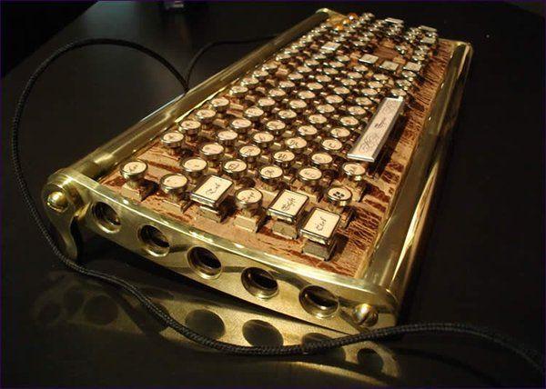 1000 id es sur le th me steampunk keyboard sur pinterest steampunk lunettes steampunk et arme. Black Bedroom Furniture Sets. Home Design Ideas