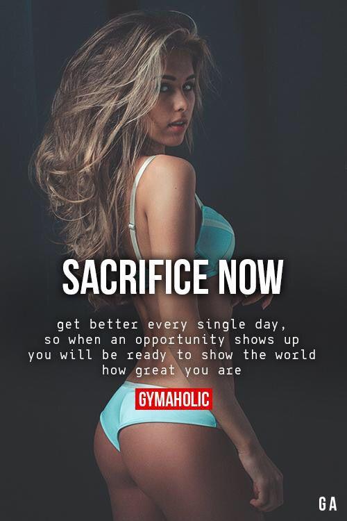 Sacrifice now.. . inspiration